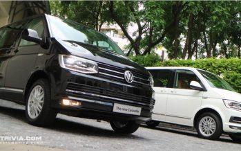 Thaiyarnyon VW Caravelle T6 รถรุ่นพิเศษเฉพาะตัว