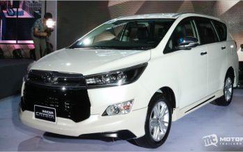 2016 Toyota Innova Crysta โฉมใหม่ เปิดตัวเป็นทางการในไทย
