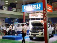 Isuzu รุกลาวต่อเนื่องส่ง BluePower ร่วมงานเวียงจันทน์ 2016