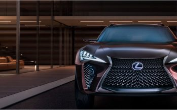 2016 Lexus UX Concept ต้นแบบครอสโอเวอร์ขนาดคอมแพคท์