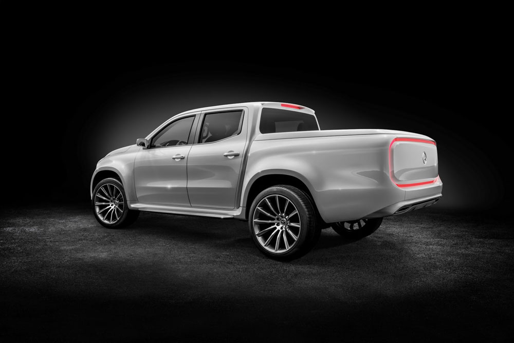2016 mercedes benz x class pickup concept. Black Bedroom Furniture Sets. Home Design Ideas