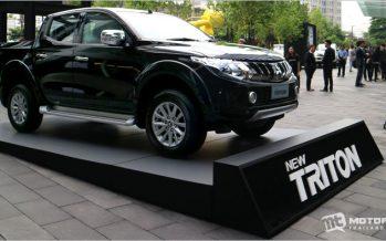 Mitsubishi Triton เปิดตัวรุ่นปรับโฉม เพิ่มอุปกรณ์มาตรฐาน