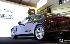 2017 Porsche Panamera Turbo เปิดตัวเป็นทางการในประเทศไทย