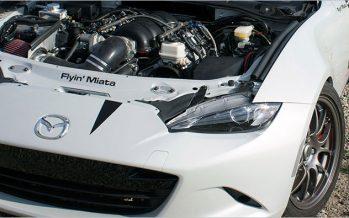 Miata บ้าพลัง วางเครื่องยนต์ V8 ของ Camaro SS