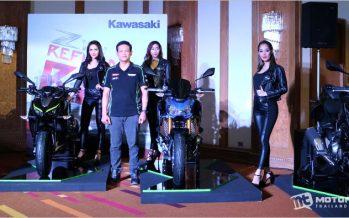 Kawasaki ประเทศไทยเปิดตัว Big Bike 3 รุ่นใหม่ตระกูล Z