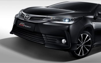 2016 Toyota Altis ยกเลิกรุ่น 1.8G เพิ่มรุ่น ESPORT Option