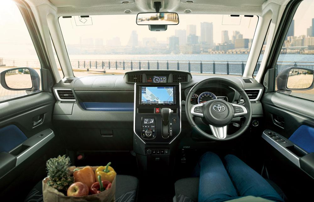 Amazing  Minivan Smart Assist Ii Subaru Justy Toyota Toyota Roomy Toyota Tank