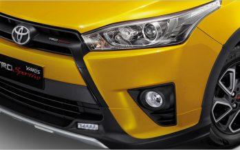 Toyota Yaris TRD Sportivo รุ่นสีเหลืองพิเศษ Limited Edition