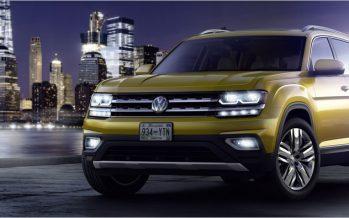 2018 Volkswagen Atlas รถ SUV 7 ที่นั่งสำหรับคนอเมริกัน