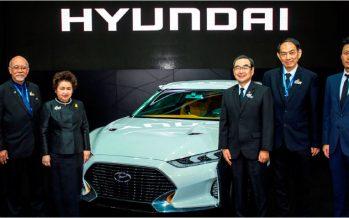 Hyundai ต้อนรับ รมว.อุตสาหกรรมเยี่ยมชมต้นแบบ Enduro