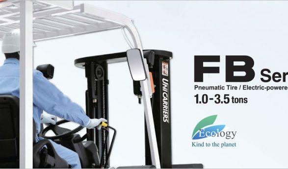Unicarriers เปิดตัวรถ Forklift ไฟฟ้ารุ่น FB series