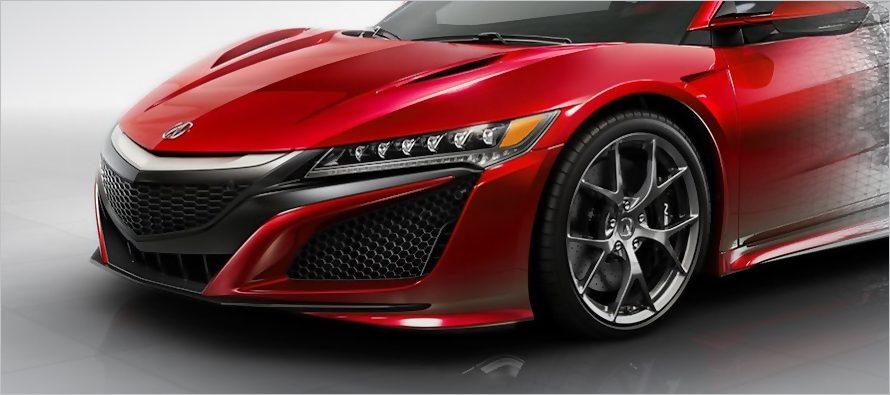 2017 Acura NSX สปอร์ต (ราคา) สุดแรงพร้อมจำหน่ายในประเทศจีน