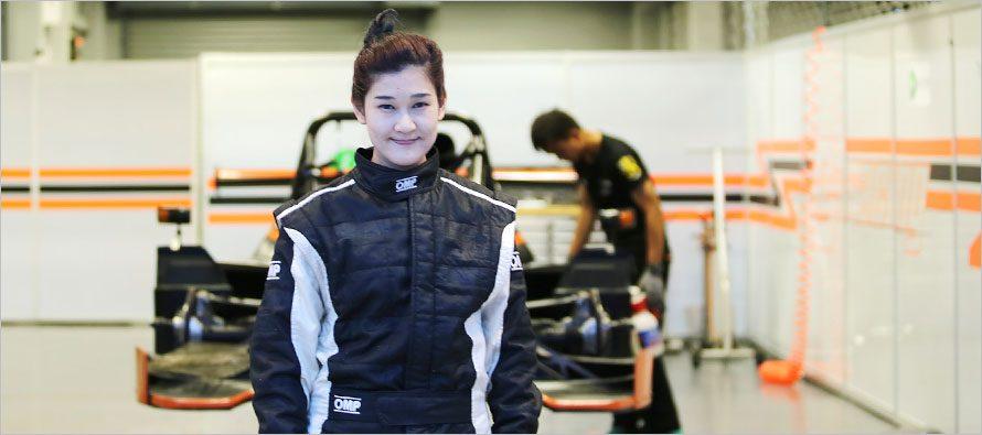 โอเปิ้ล นักขับหญิงคนแรกใน Asian Le Mans Series