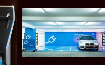 BMW ร่วมกับ Banyan Tree ขยายสถานีชาร์จแบตเตอรี่รถยนต์พลังงานไฟฟ้า