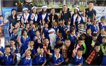 Hyundai Blue Santa 2017 กิจกรรมประจำปีส่งมอบความสุขให้น้องๆ