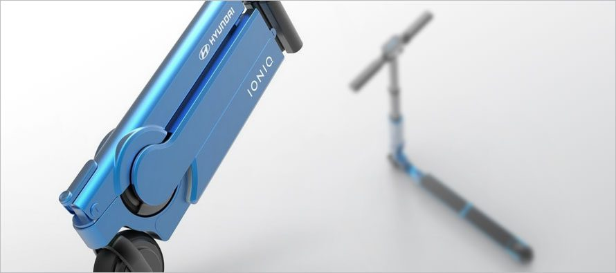 Hyundai เปิดตัวต้นแบบสกูตเตอร์ไฟฟ้า IONIQ Scooter Concept ในงาน CES