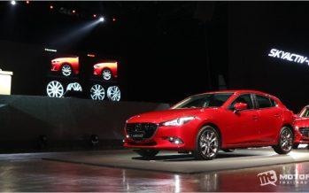 2017 Mazda3 ปรับโฉม เพิ่มเทคโนโลยีใหม่ G-Vectoring Control