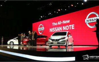 2017 Nissan Note พร้อมทำตลาดไทยในฐานะอีโค คาร์รุ่นที่ 3