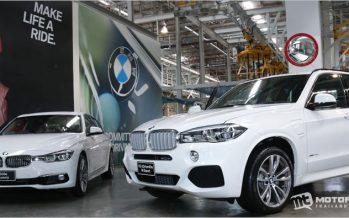 BMW ประเทศไทย เปิดสายการประกอบรถ plug-in hybrid ที่ระยอง