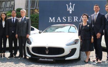 MGC-ASIA เตรียมนำเข้า Maserati ในนามมาเซราติ ประเทศไทย