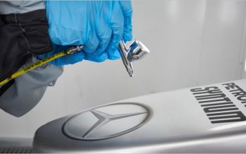 Mercedes-AMG เซ็นสัญญาใช้สีพ่นรถยนต์จาก Axalta