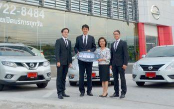Nissan ส่งมอบรถ 208 คันให้ National Car Rental Thailand