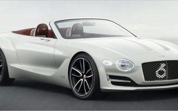 2017 Bentley EXP 12 Speed 6e Concept ต้นแบบหรูไฟฟ้าล้วน