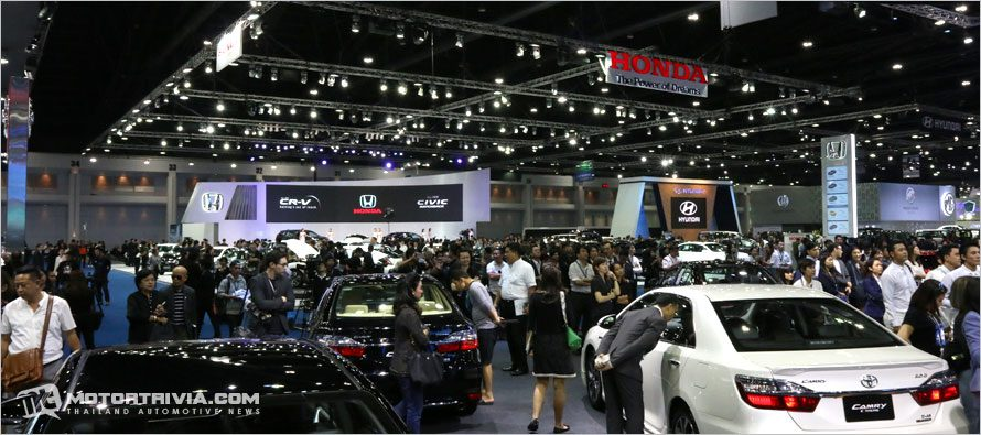 2017 Bangkok Motor Show : Reach to the Planet of Technology