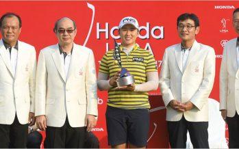เอมี หยาง คว้าแชมป์ Honda LPGA Thailand 2017