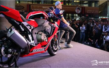 Nicky Hayden ร่วมเปิดตัว 2017 Honda CBR1000RR ในประเทศไทย
