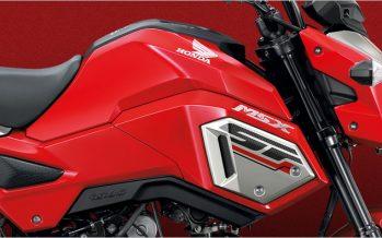 2017 Honda MSX125SF โฉมใหม่ เพิ่มระบบเบรค ABS