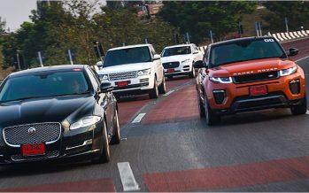 Jaguar Land Rover ทดสอบรถยนต์ 5 รุ่น เส้นทางกรุงเทพฯ-ภูเก็ต