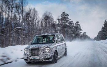London Taxi ทดสอบแท็กซี่ไฟฟ้าในสภาพอากาศหนาวสุดขั้วที่อาร์คติค