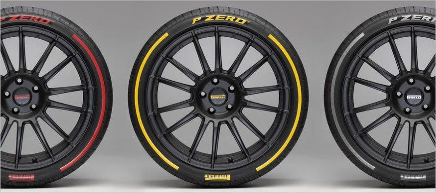 Pirelli นำเสนอแถบสียางและเทคโนโลยีเซนเซอร์ที่เจนีวา 2017