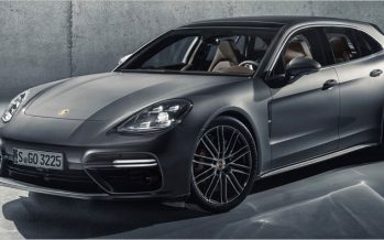 2018 Porsche Panamera Sport Turismo ทางเลือกตัวถังใหม่