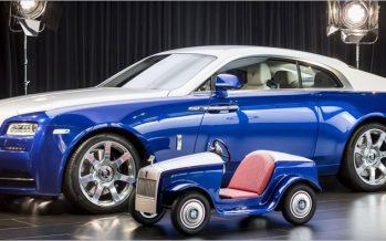 Rolls-Royce สร้างรถจิ๋วเอาใจผู้ป่วยตัวน้อยในโรงพยาบาล