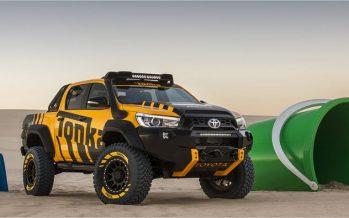 2017 Toyota HiLux Tonka Concept ต้นแบบของเล่นสำหรับผู้ใหญ่