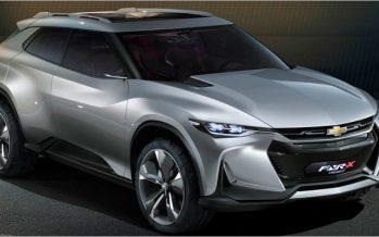 2017 Chevrolet FNR-X Concept ต้นแบบครอสโอเวอร์ PHEV