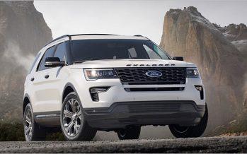 2018 Ford Explorer ปรับโฉมอีกครั้งก่อนเปลี่ยนโฉมใหม่ในเวลาอันใกล้
