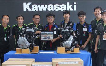 Kawasaki ร่วมสนับสนุน KMUTT Formula Student 2017