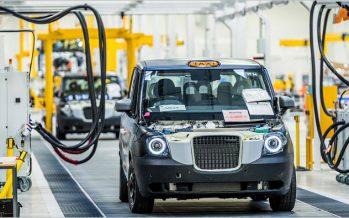 London Taxi Company เปิดโรงงานผลิตแท๊กซี่ไฟฟ้าแห่งใหม่