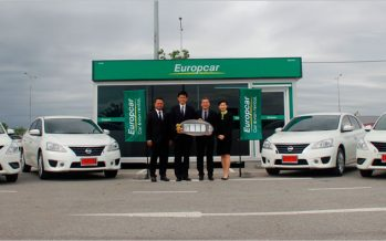 Nissan ส่งมอบ Almera และ Sylphy จำนวน 101 คัน ให้ Europcar