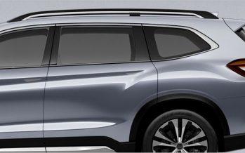 2017 Subaru Ascent SUV Concept พรีวิว SUV รุ่นใหม่เบาะ 3 แถว