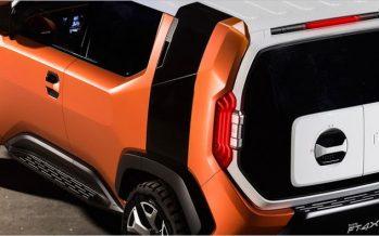 2017 Toyota FT-4X Concept ต้นแบบรถสันทนาการขนาดครอสโอเวอร์
