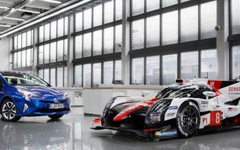 Toyota TS050 Hybrid ตัวแข่งสำหรับลุย WEC ฤดูกาล 2017