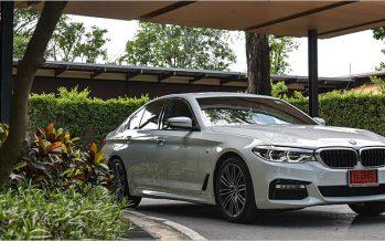 All-New BMW 5 Series ลองสมรรถนะในสถานการณ์จำลอง