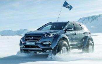 Shackleton's Returns: ข้ามแอนตาร์คติกาด้วย Hyundai Santa Fe