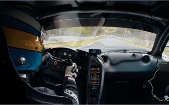 McLaren P1 LM เฉือนตำแหน่งเร็วที่สุดในโลกด้วยเวลา 2 วินาที