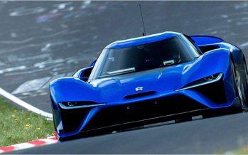 NIO EP9 ทำสถิติเร็วที่สุดบนผืนพิภพที่ลูป Nurburgring ฝั่งเหนือ