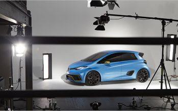Renault Zoe e-Sport Concept เพิ่มพลังด้วยมอเตอร์ไฟฟ้าคู่
